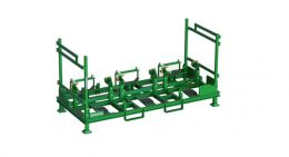 Folding engine handler - holds 3 engines